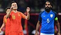 热身赛:郜林武磊先后中框 国足0-0闷平印度 2014f1马来西亚站