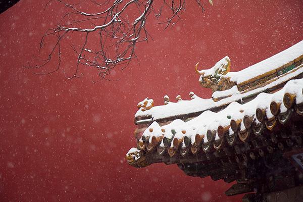 """故宫""""地暖"""":冬日里的温度"""