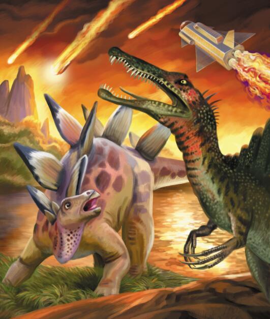 恐龙化��-a9��_6500万年前逃出地球的恐龙