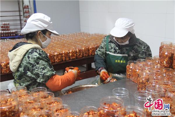 湖南沅江:生产总值超三千万 从民间小吃到致富产业