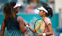WTA迈阿密赛:大阪直美1-2爆冷不敌谢淑薇出局 广州恒大vs辽宁宏运