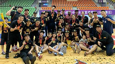WCBA:广东97-81八一 总分3-2首夺总冠军 全明星直播