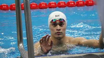 冠军赛:孙杨1分47秒06挺进男子200自决赛 姚明慈善