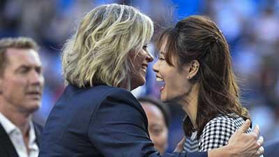 李娜成为首位进入国际网球名人堂的中国球员 裴擒虎