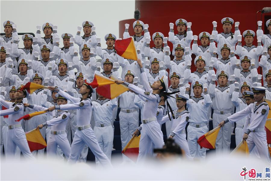 多国海军活动联合军乐展示