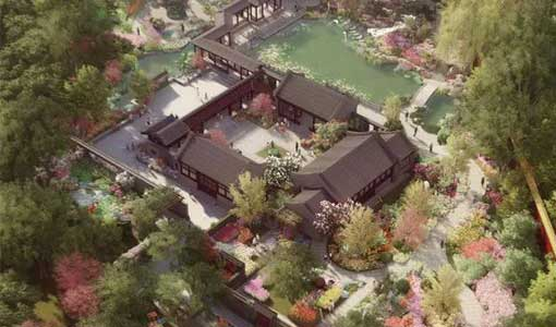 北京园:四合院中领略传统之美