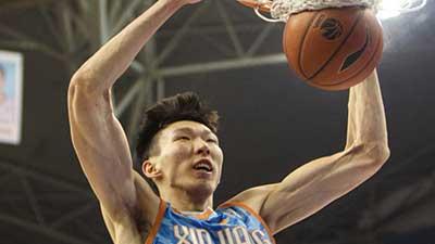 尘埃落定!CBA官方确认新疆拥有周琦优先续约权 乒乓球男双