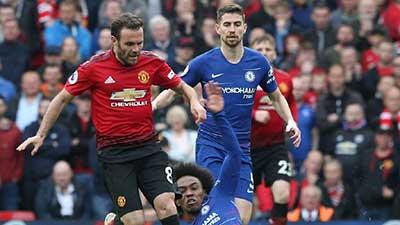 英超:马塔破门德赫亚致命失误 曼联1-1切尔西 足球教学视频
