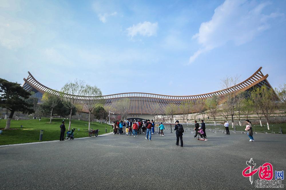 北京世界園芸博覧会、呼吸する中国パビリオンの秘密に迫る_中国網_日本語