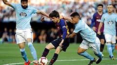 西甲:主力球员轮休登贝莱伤退 巴萨0-2塞尔塔 腾讯体育网