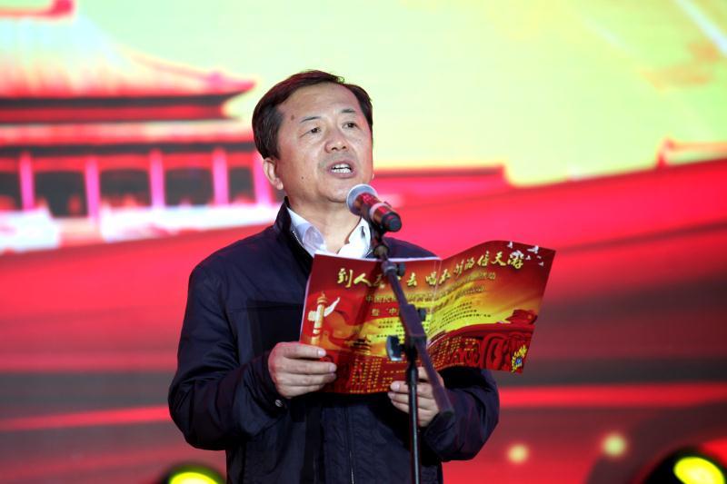 中国民协文艺志愿者陕西横山开展文艺志愿活动