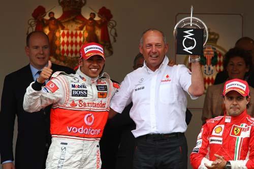 汉密尔顿夺得F1摩纳哥站冠军 eg战队
