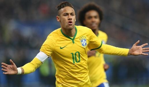 巴西队备战美洲杯  内马尔又出状况 巴拉圭足球