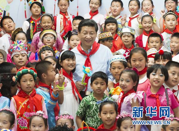"""""""六一""""儿童节 收下来自""""大朋友""""习近平的祝"""