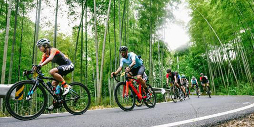 浙江大湾区自行车公开赛开骑  一流赛道惊艳骑友 库里将缺席奥运