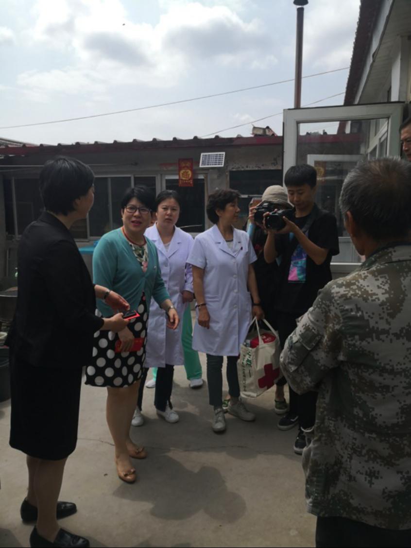 北京市红十字村建设推进会-走进怀柔