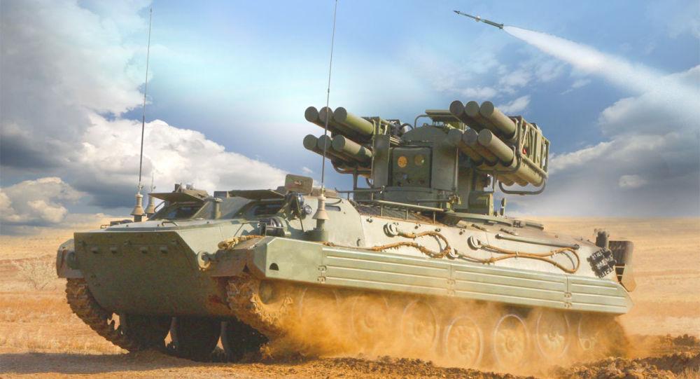 俄军确定列装一款新防空系统 一车配12枚导弹
