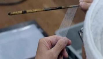 世界最薄和纸仅0.02毫米厚 莫雷罗