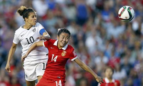 女足世界杯精彩瞬间