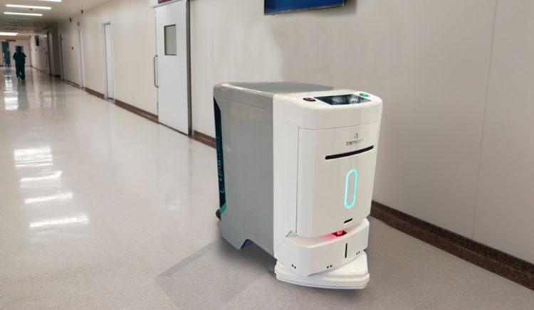 国内首台核医学领域智能物流机器人在医大一院上岗 孙子扇奶奶耳光
