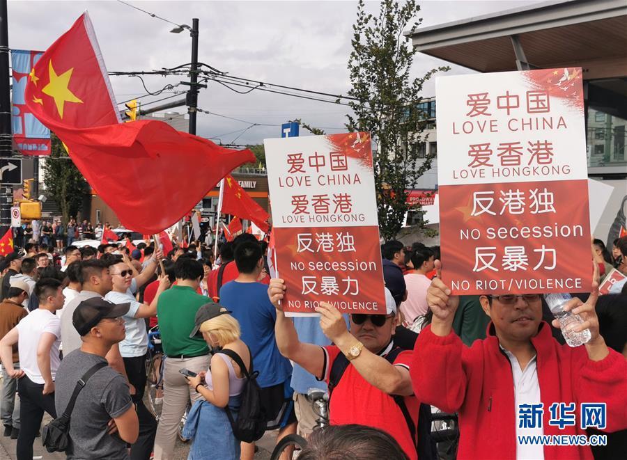 香港一男子持港独旗帜被捕