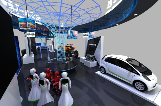 新能源汽车、消防机器人……智博