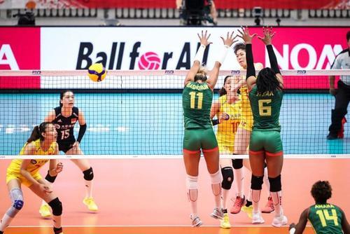 女排世界杯李盈莹22分 中国女排取得两连胜