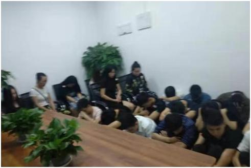 九龙坡区警方协助河南警方突击抓