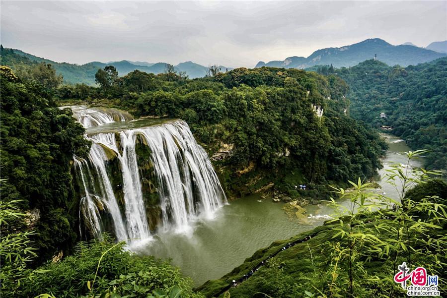 黄果树景区提高服务品质 打造旅游发展升级版