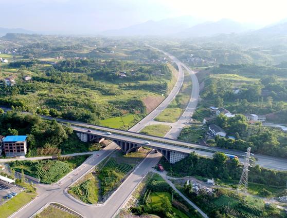 邻水gdp_好消息丨达渝高速公路邻水北出口工程动工