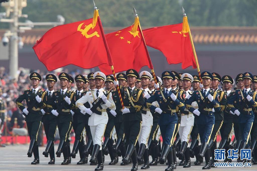 中国举行盛大阅兵式_20个首次!新中国70华诞大阅兵亮点盘点_中国习观_中国网