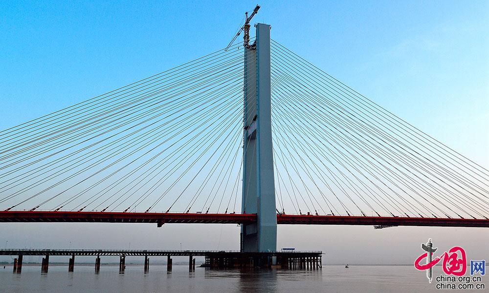 河津新闻网 中心_山西河津:龙门黄河大桥蔚为壮观[组图] _ 图片中国_中国网