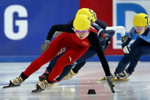 短道速滑世界杯  中国添两金 2013nba常规赛