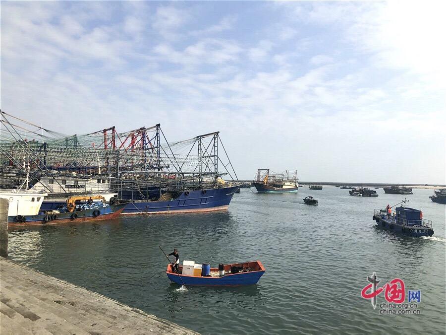 【美丽中国•网络媒体生态文明行】广西北海:南澫中心渔港水体治理显成效