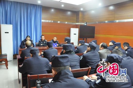 忠县公安局组织开展集中清查行动