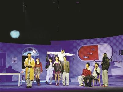 经典话剧《飞越疯人院》 中国青春版在杭首演