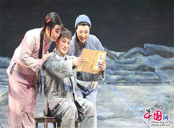 江苏徐州:大型原创梆子戏《母亲》在京演出