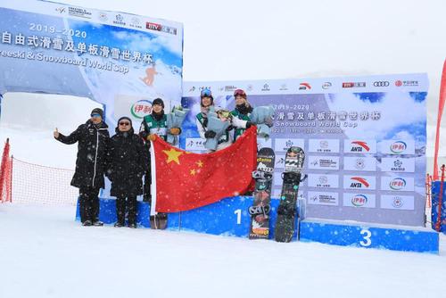 刘佳宇、蔡雪桐包揽单板滑雪U型场地世界杯分站冠亚军