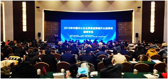 """""""2019年中国中小企业质量品牌提"""