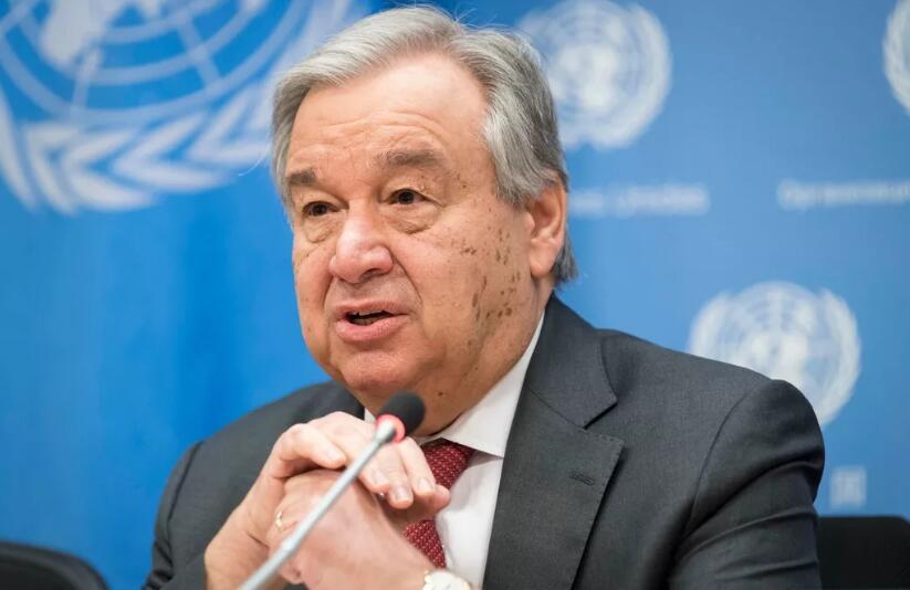 联合国秘书长呼吁:共抗疫情 停止歧视