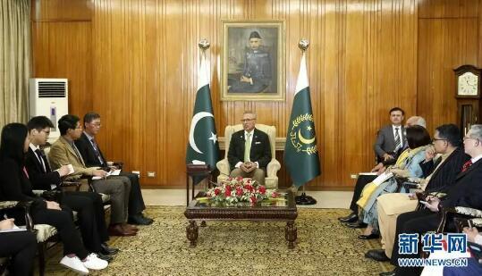 巴基斯坦总统今日访华!他说巴中友谊深厚的秘诀是……
