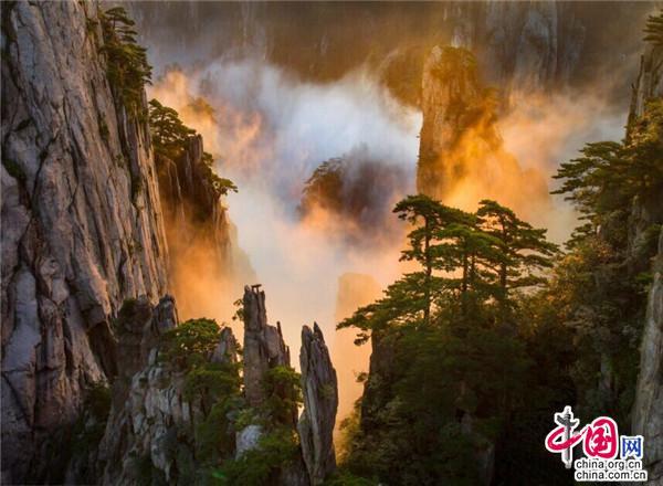 上帝視角俯瞰美景 帶你解鎖最美黃山