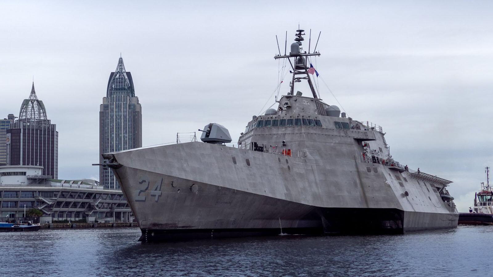 美国海军又接收一艘濒海战斗舰 现役舰艇总数达300艘