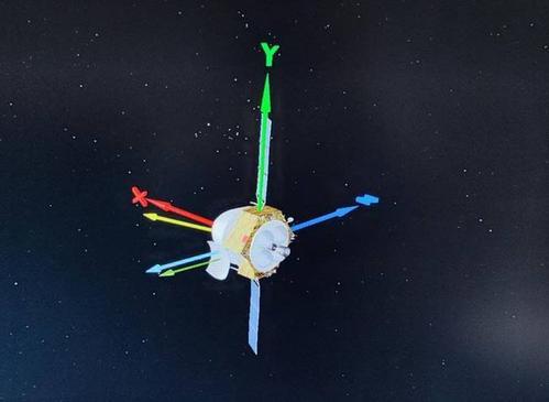 天问一号火星探测器完成第一次轨道修正:地月合影是如何完成的