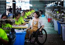 轮椅上的赞歌:一朵仿真花远销海外 元气森林公益助力苗乡