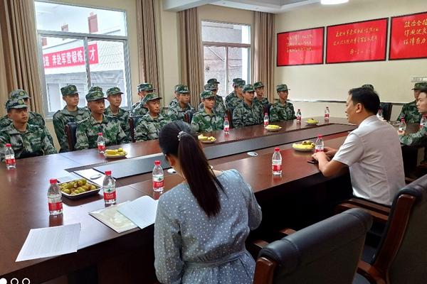 四川卫生康复职业学院举行新兵入伍欢送