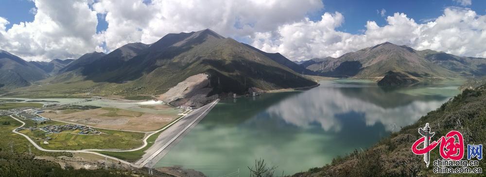 """【重走天路看变迁】西藏旁多水利枢纽 拉萨河上的""""西藏三峡"""""""
