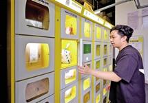 一秒开柜 无接触取餐 智能取餐柜能否成为新刚需