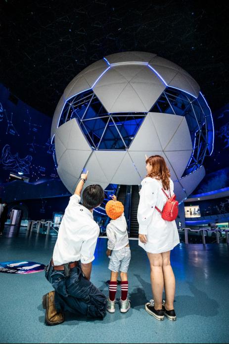中秋国庆假期推荐:中国首家航天主题乐园(图)