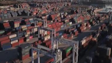 美国主要集装箱港口效率全球倒数